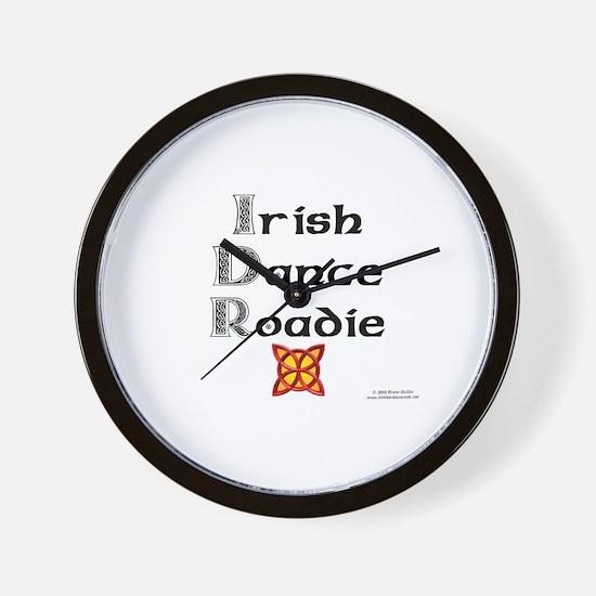Irish Dance Roadie - Wall Clock
