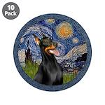 Starry Night Doberman (#1) 3.5