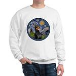 Starry Night Doberman (#1) Sweatshirt