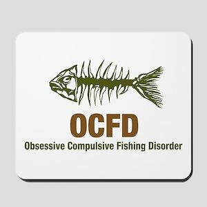 OCFD Obsessive Fishing Mousepad