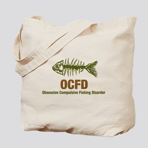 OCFD Obsessive Fishing Tote Bag