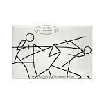 SpecGram Phonology/Phonetics Rectangle Magnet (100