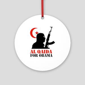 Al Qaida for Obama Ornament (Round)