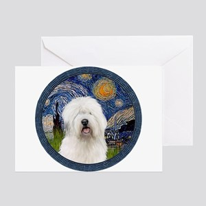 Starry Old English (#3) Greeting Card