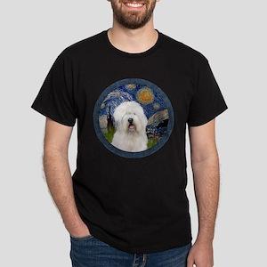 Starry Old English (#3) Dark T-Shirt