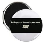Penn Central Railroad Travel Logo Magnet