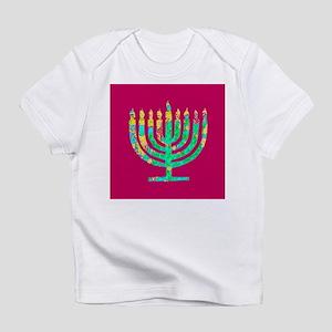 Menorah Hanukkah Kibbitzing 4Sarah T-Shirt