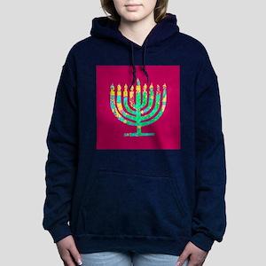 Menorah Hanukkah Kibbitzing 4Sarah Sweatshirt