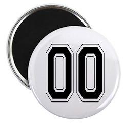 Varsity Font Number 00 Black 2.25