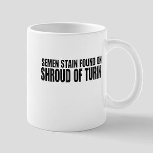 Semen stain on Shroud Mug