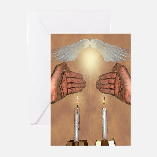 The Lights of the Sabbath Greeting Cards (Package