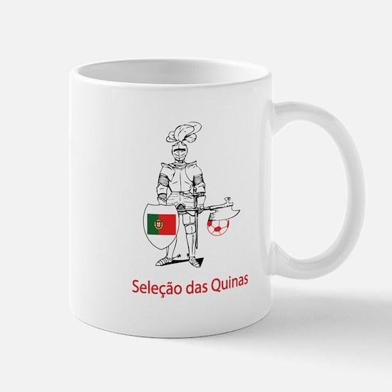 """Whooligan Portugal """"5 Shields"""" Mug"""