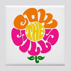 Cowsill Logo (Brights) Tile Coaster