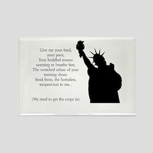 Statue of Liberty - Immigrati Rectangle Magnet