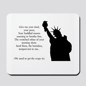 Statue of Liberty - Immigrati Mousepad