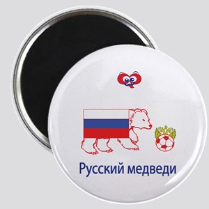 "Whooligan Russia ""Bears"" Magnet"