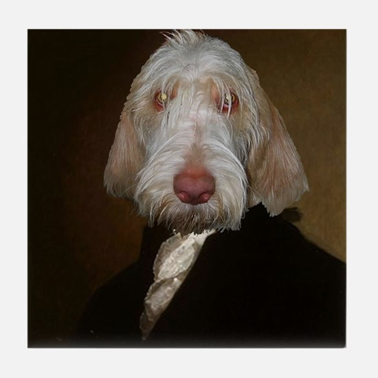 Spinone WASHINGTON Tile Coaster