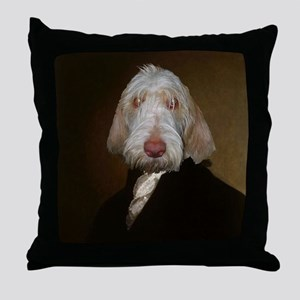 Spinone WASHINGTON Throw Pillow