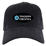 Teachers for Obama Black Cap