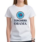 Teachers for Obama Women's T-Shirt