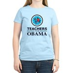 Teachers for Obama Women's Light T-Shirt