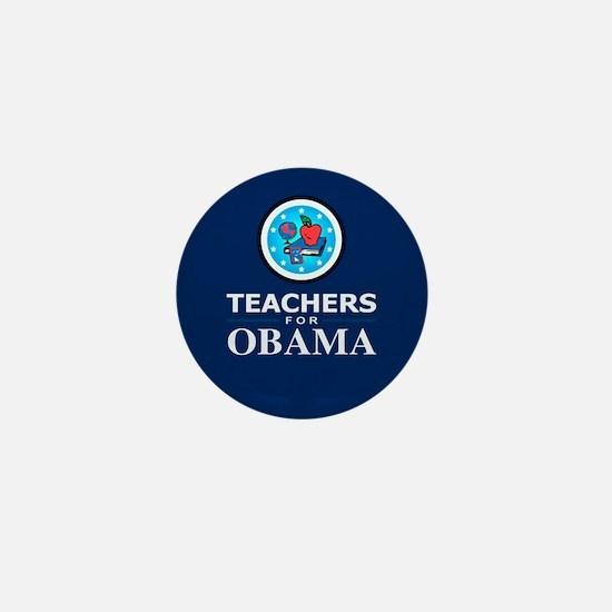 Teachers for Obama Mini Button