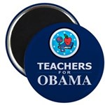 "Teachers for Obama 2.25"" Magnet (100 pack)"