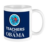 Teachers for Obama Dark Mug