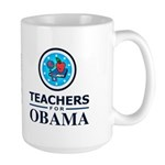 Teachers for Obama Large Mug