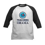 Teachers for Obama Kids Baseball Jersey