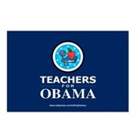 Teachers for Obama Postcards (Package of 8)