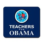 Teachers for Obama Mousepad