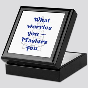 WHAT WORRIES YOU - 2 Keepsake Box