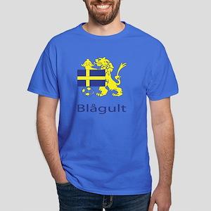 """Whooligan Sweden """"Blue-Yellows"""" Dark T-Shirt"""