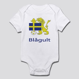 "Whooligan Sweden ""Blue-Yellows"" Infant Bodysuit"