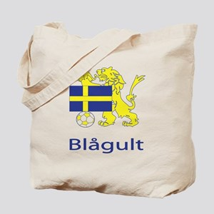 """Whooligan Sweden """"Blue-Yellows"""" Tote Bag"""