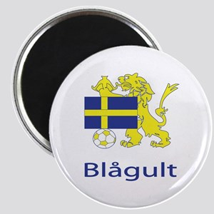 "Whooligan Sweden ""Blue-Yellows"" Magnet"