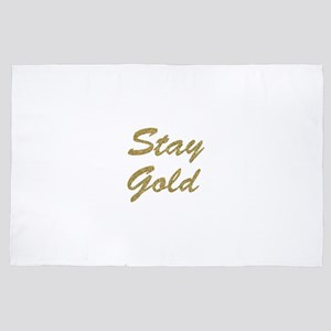 Stay Gold 4' x 6' Rug