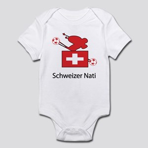 "Whooligan Switzerland ""Schweizer Nati"" Infant Body"