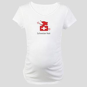 "Whooligan Switzerland ""Schweizer Nati"" Maternity T"