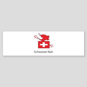 """Whooligan Switzerland """"Schweizer Nati"""" Sticker (Bu"""