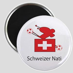"""Whooligan Switzerland """"Schweizer Nati"""" Magnet"""