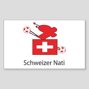 """Whooligan Switzerland """"Schweizer Nati"""" Sticker (Re"""