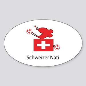 "Whooligan Switzerland ""Schweizer Nati"" Sticker (Ov"