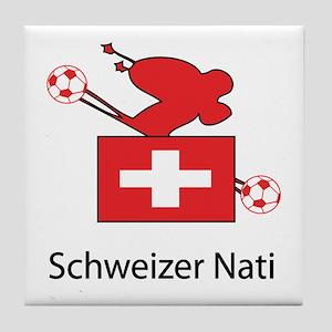 """Whooligan Switzerland """"Schweizer Nati"""" Tile Coaste"""