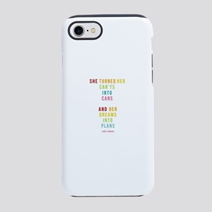 Dreams into Plans iPhone 8/7 Tough Case