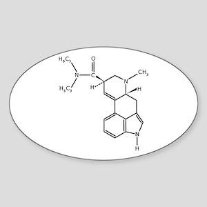 LSD Oval Sticker