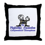 Mascot Conference Champions Throw Pillow
