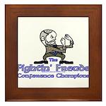 Mascot Conference Champions Framed Tile