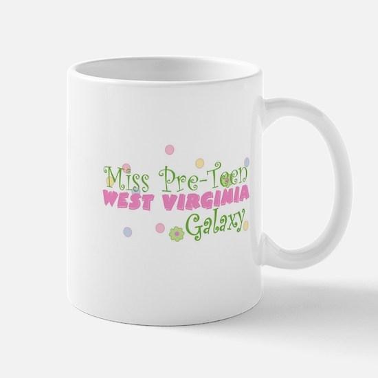 West Virginia Miss Pre-Teen Mug